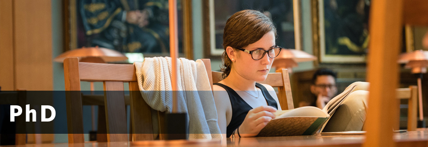 Ph D    iSchool (Library, Archival and Information Studies)
