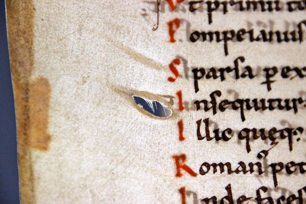 hole parchment
