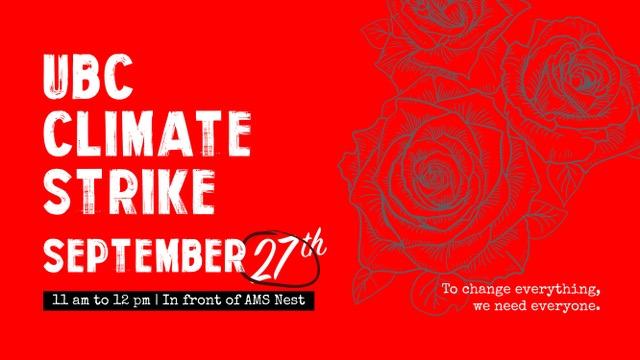 UBC Climate Strike - Sept 27