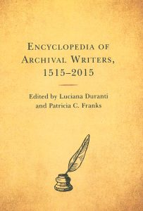 Encyclopedia of archival writers